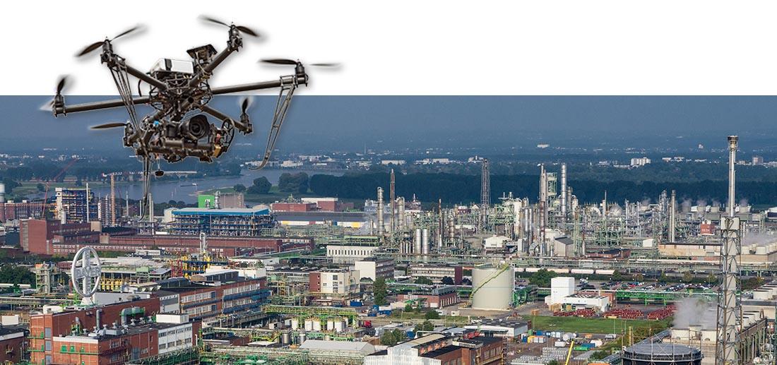 Chemische Industrie, Bayer Chempark in Dormagen