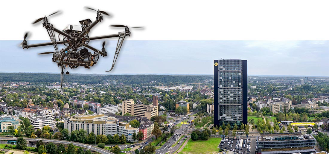Planung für ein Bauprojekt in Düsseldorf