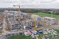 Neubau von Wohnungen in Köln
