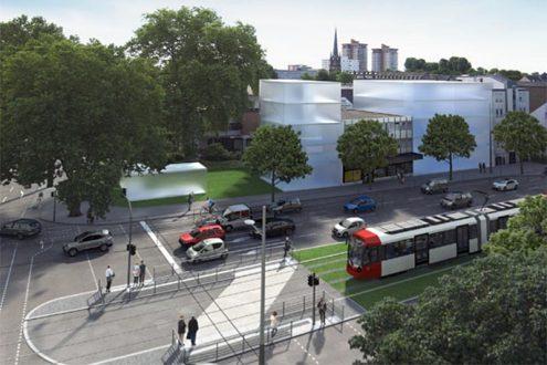 Visualisierung für Straßenplanung der Stadt Köln