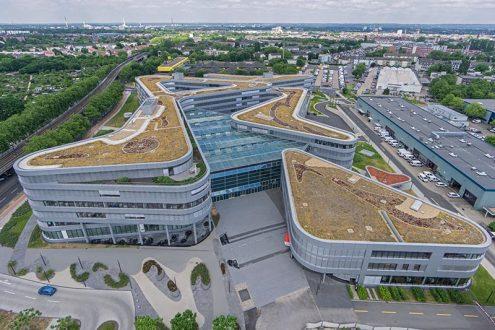 Neubau, Gebäude derVerwaltung von RheinEnergie