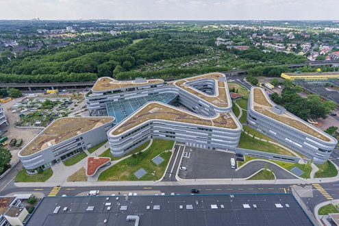 Neubau Zentralgebäude von RheinEnergie in Köln