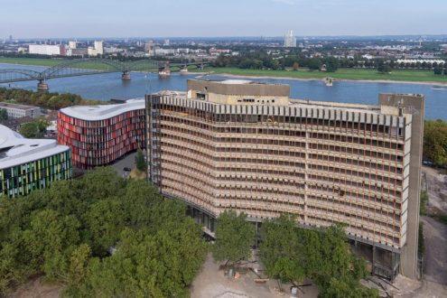 Sanierung von Hochhaus in Köln am Rhein