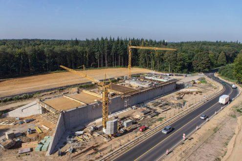 Dokumentation von Baufortschritt einer Baustelle