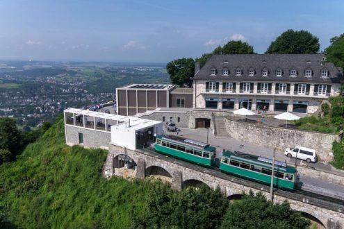 Drachenfelsbahn im Siebengebirge
