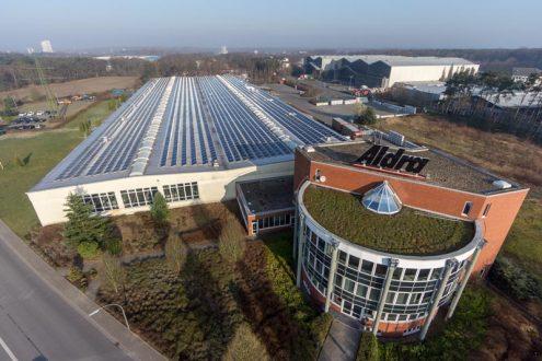 Fabrik und Bürogebäude in Marl, NRW