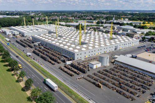 Firmenzentrale und Fabrik von Nicholas Grimshaw in Köln.