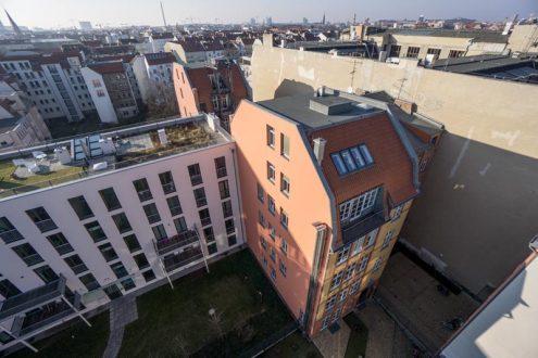 Wohnhaus in berlin für Immobilienverwaltung