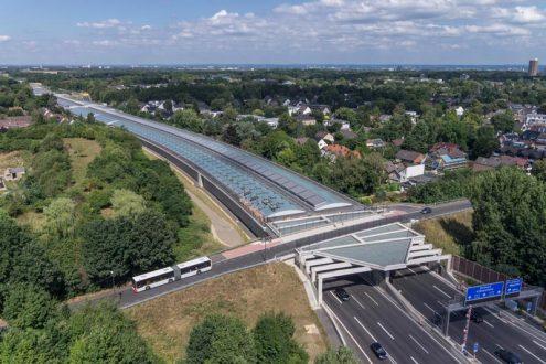 Schallschutz für die Autobahn in Köln
