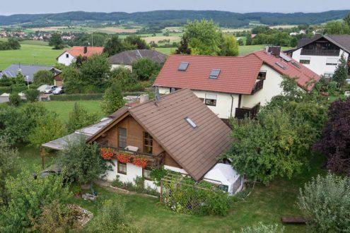 Eigenheim auf dem Land im Grünen