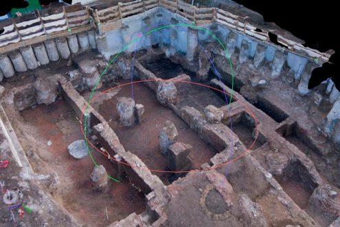 Photogrammetrische 3D Ansicht in der Archäologie