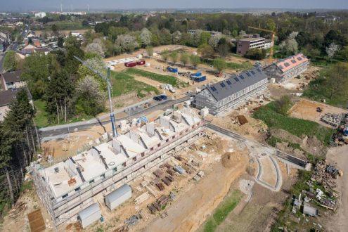 Neue Eigentumswohnungen werden in Düren gebaut