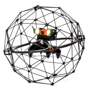 Drohne mit Schutzkäfig Elios von Flyability