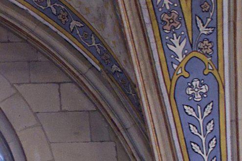 Dokumentation von Schäden in einer Kirche