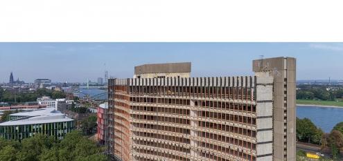 Revitalisierung von Hochhaus, Projekt FLOW Tower in Köln, NRW