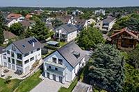 Neubau in Bonn. Immobilie mit Aussicht und Garten wird verkauft