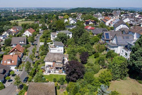 Blick auf Bonn und Rheintal von Bonn-Ippendorf