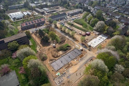 Bauprojekt von Eigentumswohnungen in Düren im Rheinland