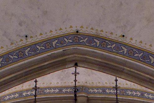 Foto für Gutachten von Rissen in einer Kirche