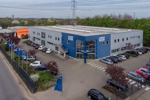 Firmenzentrale von Großhändler in Brühl, NRW