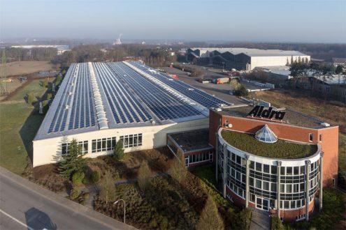 Büro und Fabrikgebäude von Betrieb in Marl NRW
