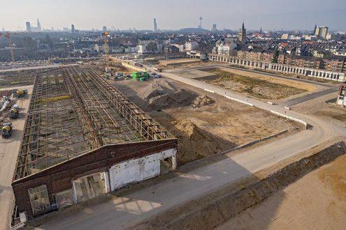 Foto von Baugelände Clouth Quartier in Köln Nippes