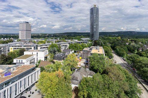 Foto von Villa in Bonn Gronau für Immobilienmakler mit Post Tower