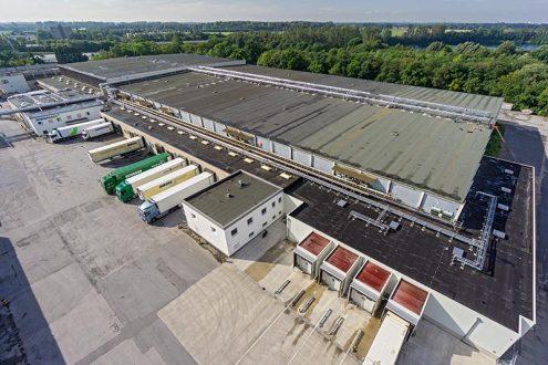 Foto von Logistik Unternehmen, Spedition für Tiefkühlprodukte im Ruhrgebiet, Duisburg