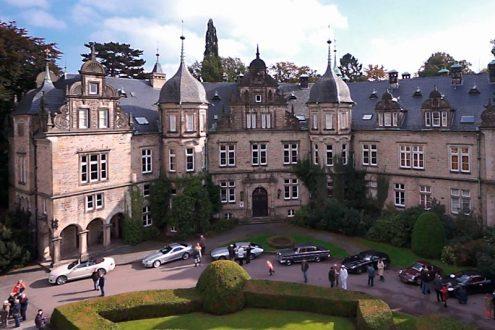 Schloss Bückeburg, Veranstaltung Oldtimerrallye