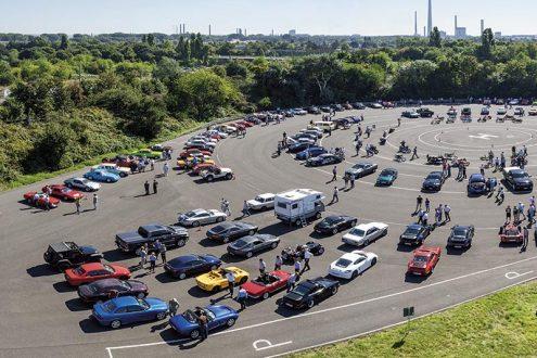 Automobile Schätze auf dem Enthusiasts Day bei Ford in Köln