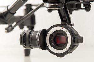 Kamera mit Micro 4/3 Sensor