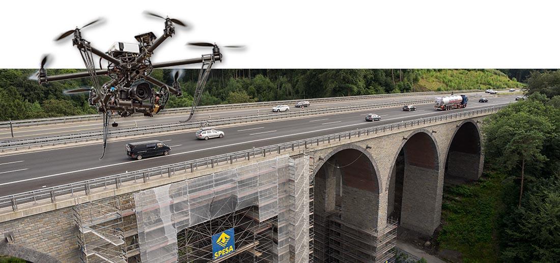 Bausanierung in NRW. Die Autobahnbrücke Einsiedelstein.