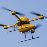 DHL Drohne im Flug